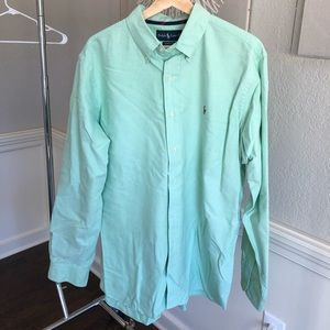 Ralph Lauren Green Button Down